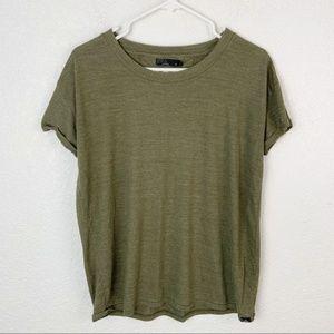 Prana Green Shirt Medium
